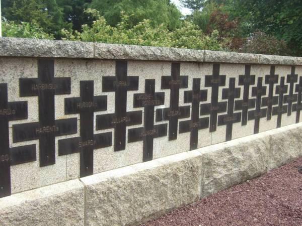 Mémorial des SAS tués pendant la guerre